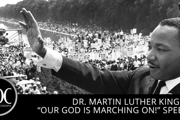 Harris Design Concepts Dr. Martin Luther King speech, Selma, MLK Day